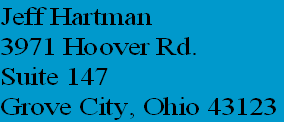 Jeff Hartman